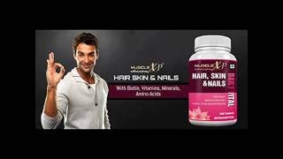 MuscleXP Biotin Hair, Skin & Nails Complete MultiVitamin (36 Nutrients) 60 Tablets flat 40% off here