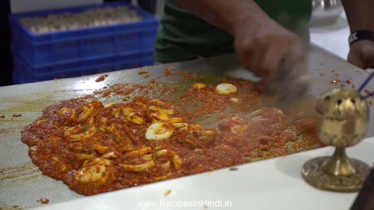 Indian Street Food The Biggest Egg Curry Ever Indian Egg Dishes