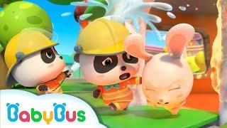 Download Mp3 Si Bayi Panda Kecil Menjadi Petugas Pemadam Kebakaran | Lagu Anak-anak | Bahasa