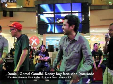 Doniel Gamal Gandhi Danny Boy Abe Domikado  - Live at Block Battles 17