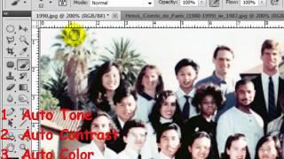 Photo Fixer - MyAegean Photoshop Tutorial #12