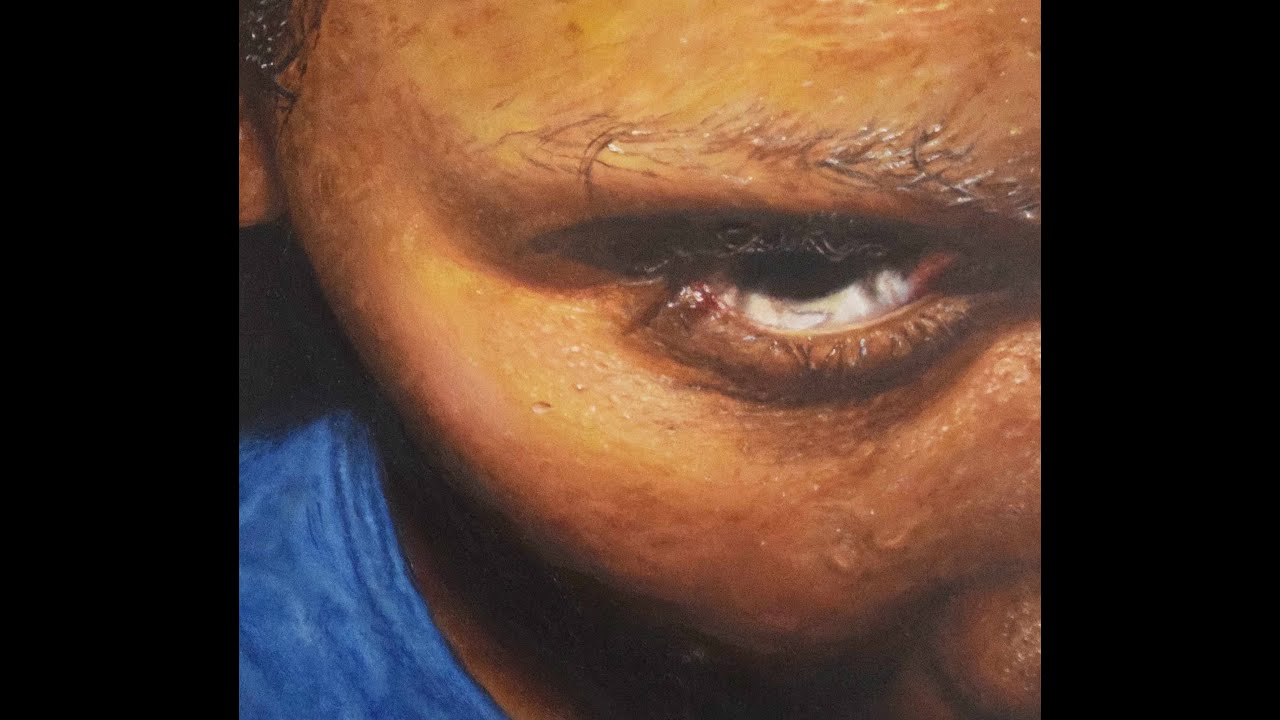 Painting A Portrait With Acrylic Dark Skin Tones