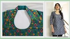 Halter Neck Design With Collar #कॉलर वाला हॉल्टर नेक डिज़ाइन I Tahzeeb Ghori