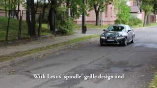 All-new Lexus IS 250 test drive