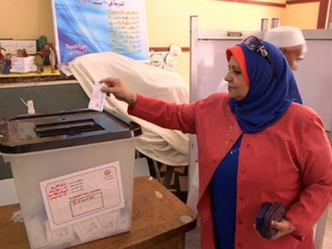 Egypt's two-day presidential election begins