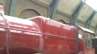 Hogwarts Express at Kings Cross Station - Wizard World at USF