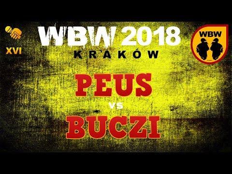 bitwa PEUS vs BUCZI # WBW 2018 Kraków (1/8) # freestyle battle