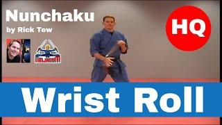 Rick Tew Nunchaku Wrist Roll HQ.avi