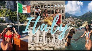 ITALY TRAVEL VLOG   Venice, Florence, Rome, Positano, Capri, & Milan