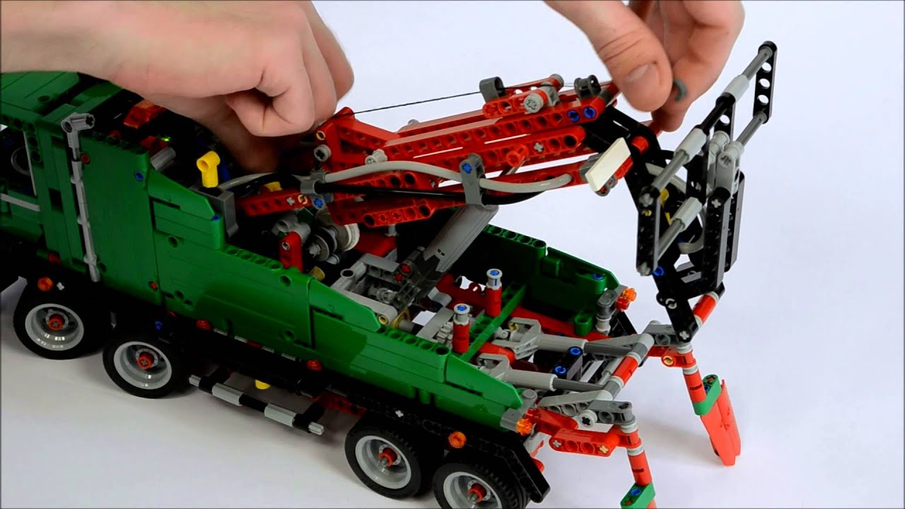 lego technic 42008 youtube. Black Bedroom Furniture Sets. Home Design Ideas