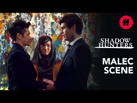 """Malec's Wedding   Shadowhunters Series Finale   Music: Ruelle - """"I Get to Love You"""""""