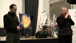 Факел пробуждения - пророческие картины 16.01.2016 (люб. зап.)(16.01.2016 - на ночной молитве в церкви