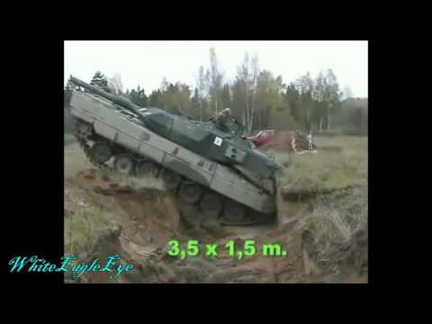 How A Tank Crosses Trench Very Slowly And Very Quickly
