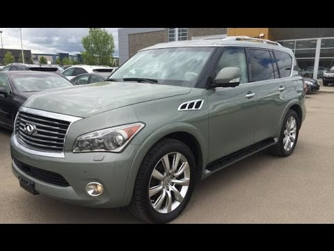 Infiniti Pre Owned >> Pre Owned Green 2011 Infiniti QX56 4WD 4dr 8-pass - Calgary, Alberta, Canada - YouTube
