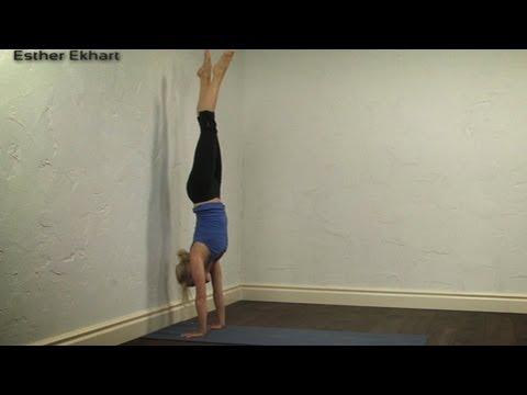 Handstand tutorial, Yoga