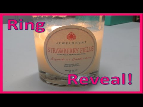 JewelScent Ring Reveal - Strawberry Fields Candle