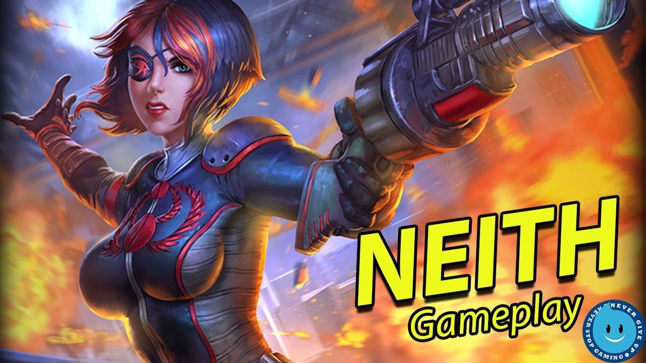 Smite: Neith God Guide - MMOGames.com