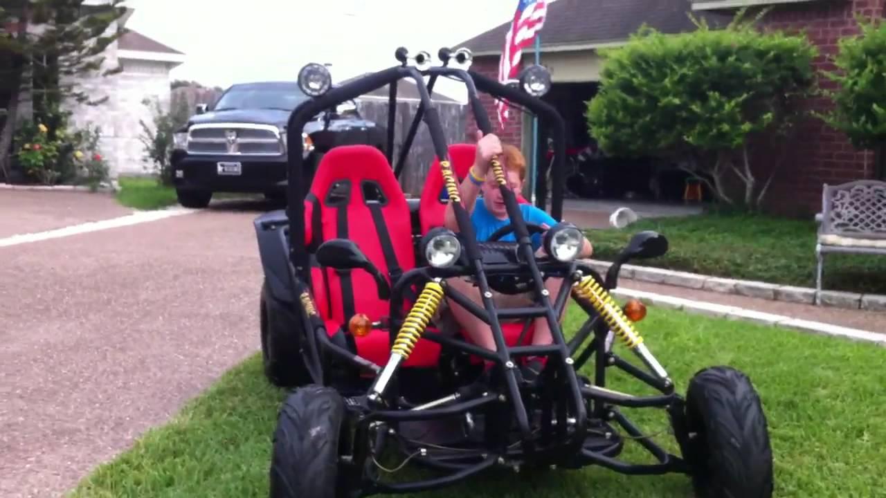 150cc Spyder Go Kart Review Youtube