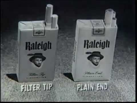 Classic Commercials - Raleigh Cigarettes