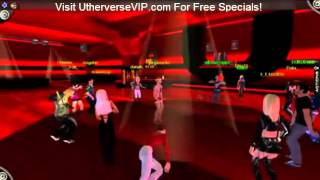Virtual Games Dancing online at Utherverse