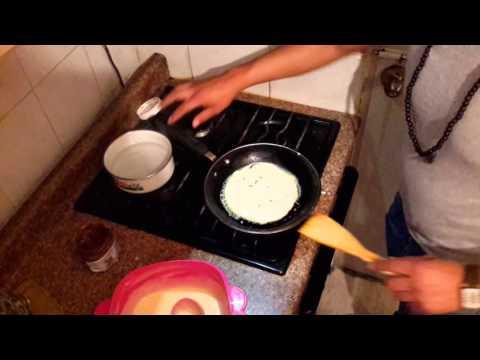 Hot Cakes Rellenos de Nutella!!! (Receta)