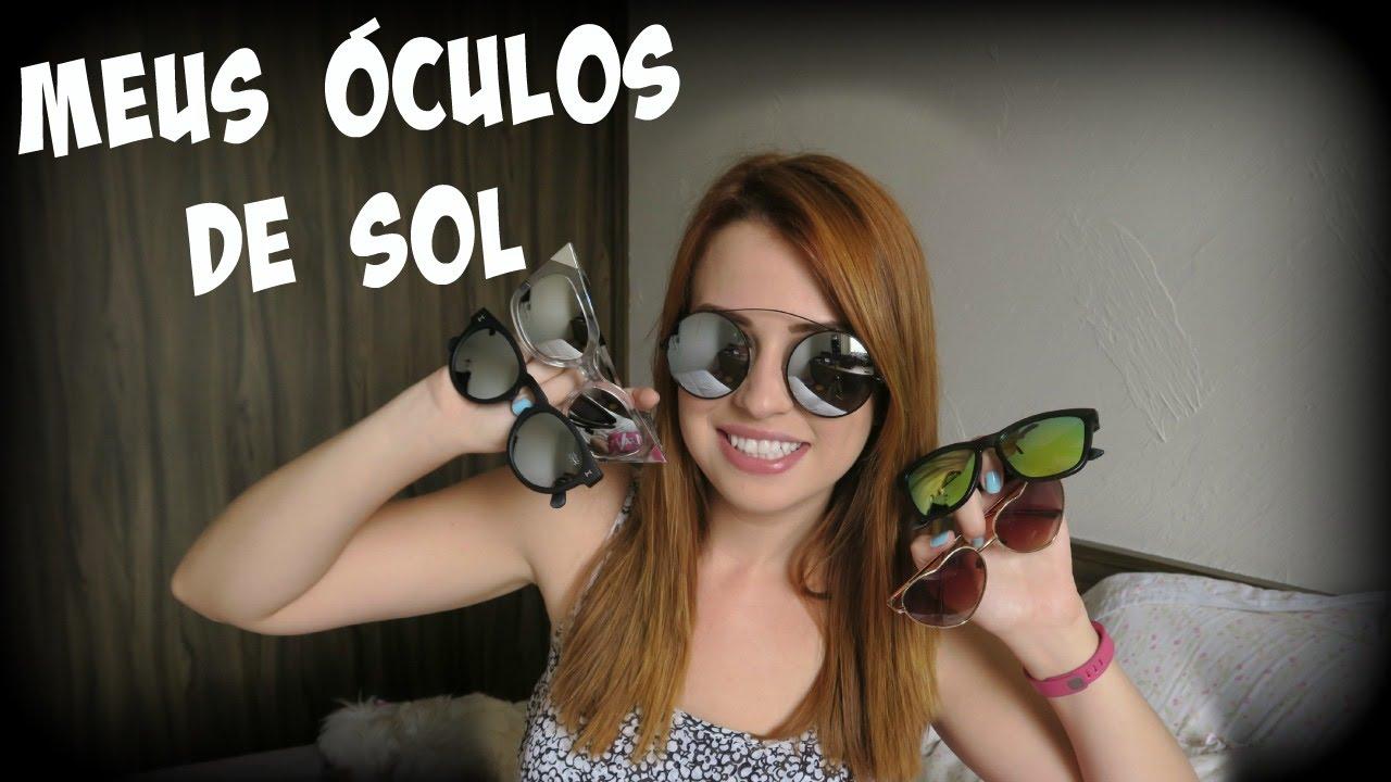 Meus Óculos de Sol - Fabi Santina - YouTube 86f8db037a