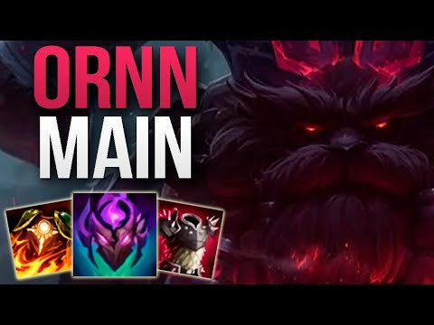 CHALLENGER ORNN MAIN SHOWS YOU HOW TO SOLO CARRY   CHALLENGER ORNN TOP GAMEPLAY   Patch 10.4 S10