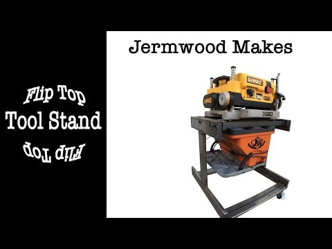 Flip Top Tool Stand for Planer and Sander