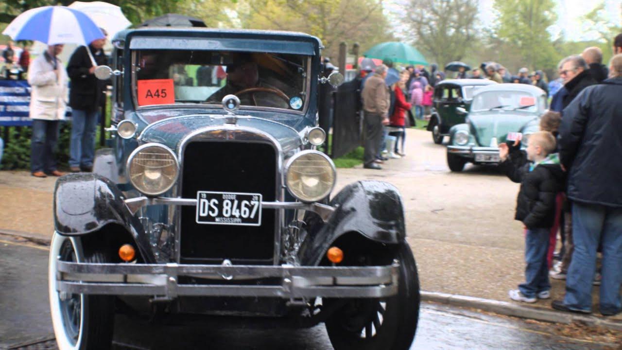 Classic Car Run - Ipswich to Felixstowe, Christchurch Park May 6 ...