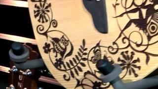 Safari Fantasy Travel Guitar - NAMM 2015