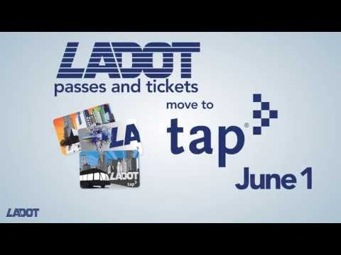 Using TAP On LADOT