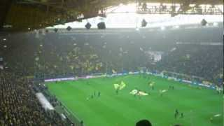 BVB Borussia Dortmund vs Greuther Fürth - You´ll never walk alone - 17.11.2012