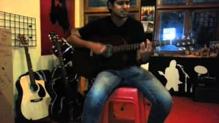 Woh pehli baar on Acoustic guitar unplugged!!