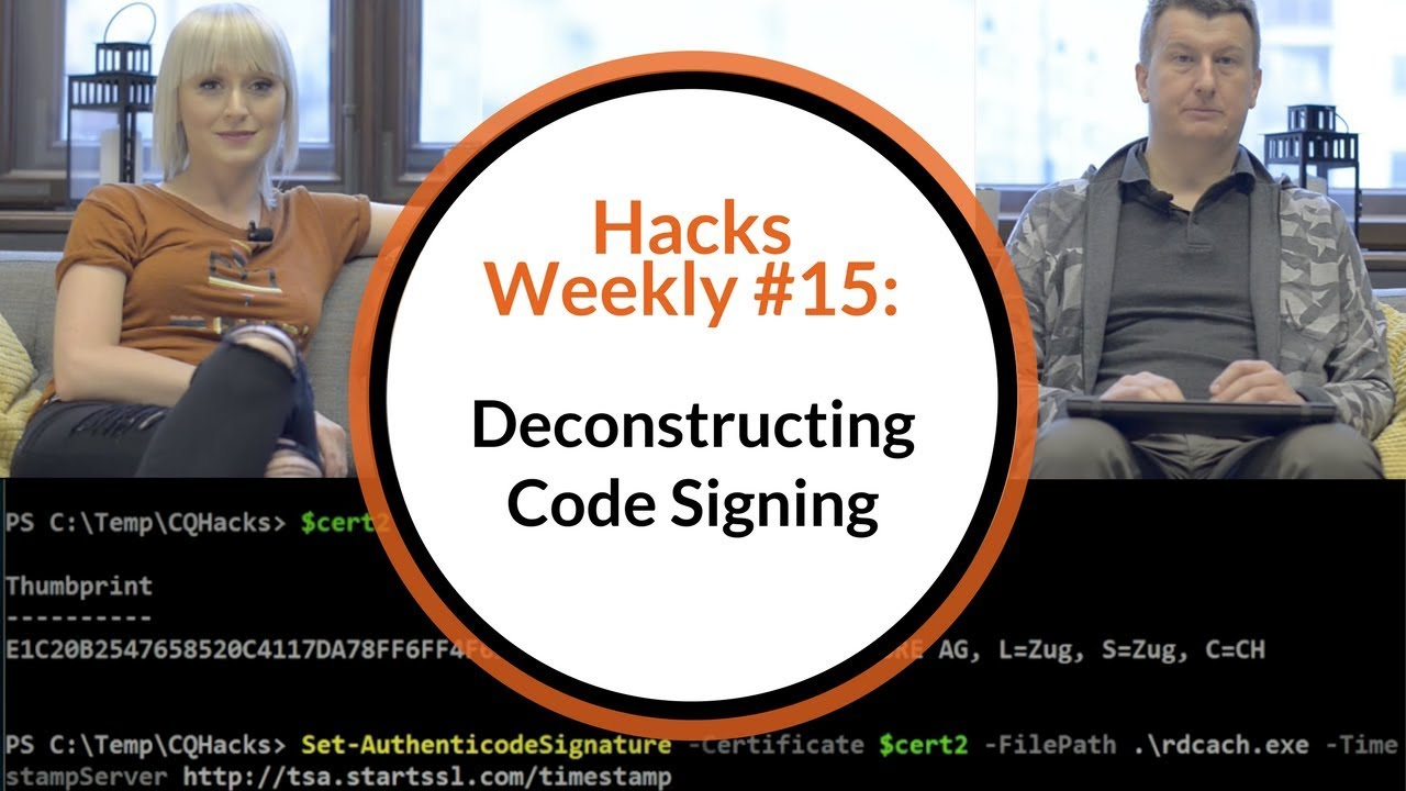 Hacks weekly 15 deconstructing code signing how to get the hacks weekly 15 deconstructing code signing how to get the certificate sign a code and verify 1betcityfo Image collections