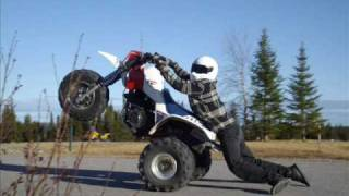 Stunt Session Radisson B-James ATC 350X 86