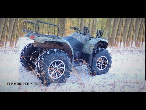 ITP Mudlite XTR Tire TESTING PHASE in SNOW 27 Inch