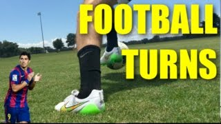 Football Turns - First Touch | Tutorial