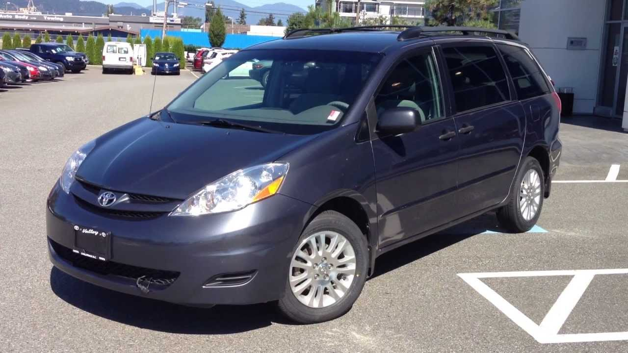 sold 2008 toyota sienna ce awd for sale here at valley toyota scion in chilliwack b c b1389 youtube