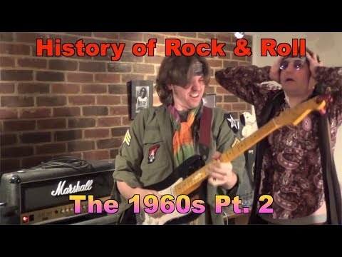 History of Rock & Roll 60s  The 1960s Pt 2