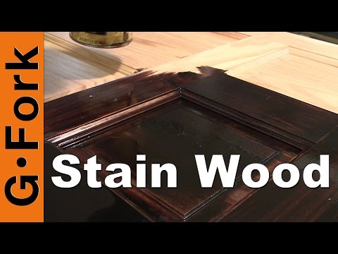 How To Stain Wood - GardenFork