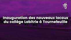 Inauguration de nouveaux locaux du collège Labitrie (Tournefeuille)