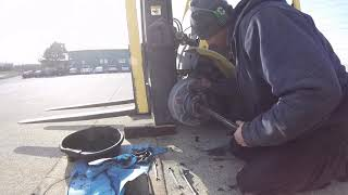hyster brake service