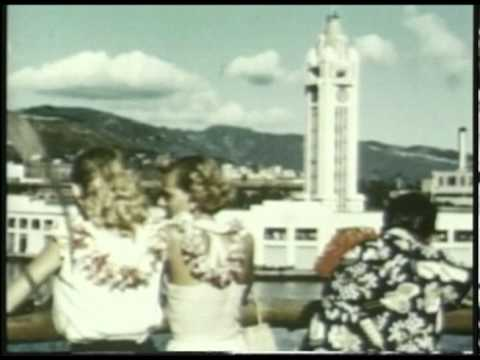 The White Ships: 1930's Matson Hawaii Cruise Lines on BITV
