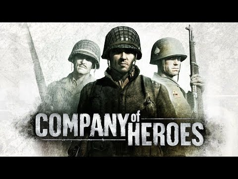 Company of Heroes All Cutscenes (Game Movie) 1080p HD