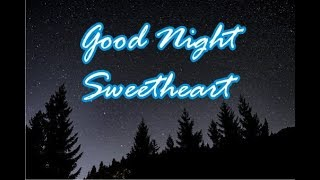 Good night message to my sweetheart, Quotes, Wishes, Greetings - Good night Darling