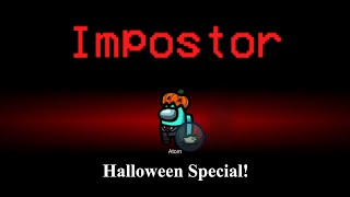 Big Brain Impostor and Detective Moments | Among Us Halloween Special