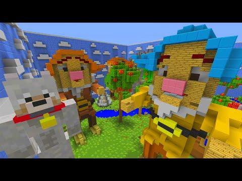 Minecraft Xbox | Hide and Seek - 7 Dwarfs