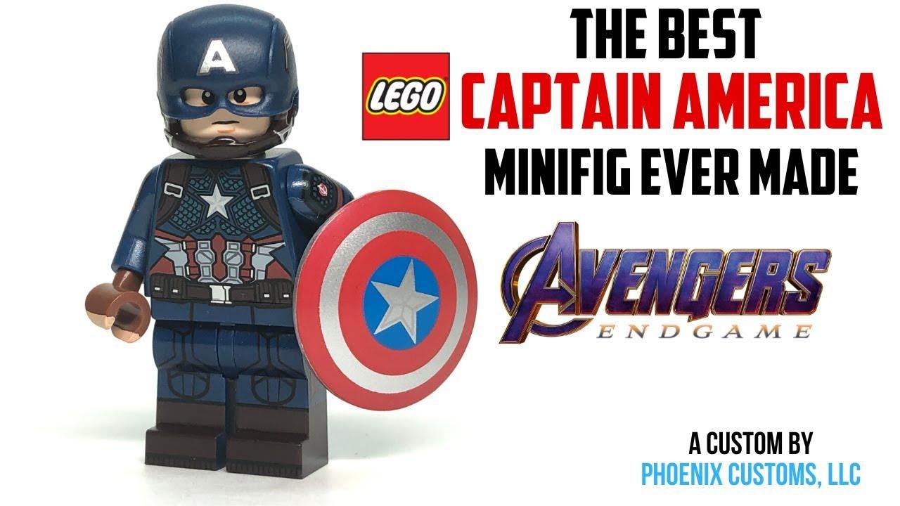 similar to Captain America Minifigure Lego Marvel -