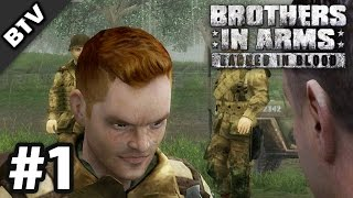 BRACE YOURSELF!   Brothers in Arms: Earned in Blood Campaign Walkthrough #1