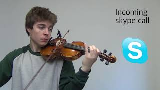 Notification sounds on violin 2 thumbnail